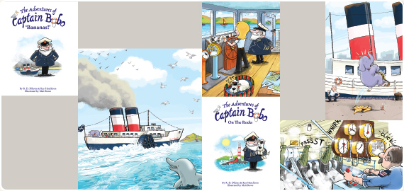The Adventures of Captain Bobo – A fun children's picture book series for Ages 4 to 6
