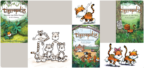 Tigeropolis – A fun children's book series for Ages 8 to 11
