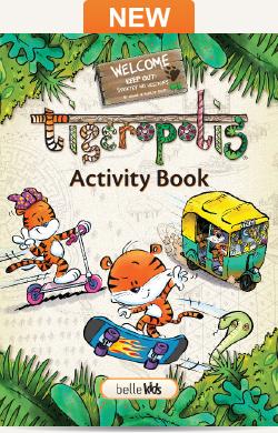 Tigeropolis Activity Book