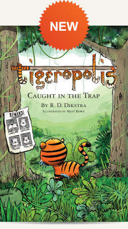 Tigeropolis Book 3: Caught in the Trap