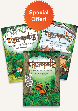Tigeropolis Books Bundle: Books 1, 2 and 3