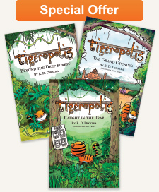 Tigeropolis Book Bundle: contains the first three books in the series