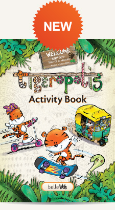 Tigeropolis Activity Book