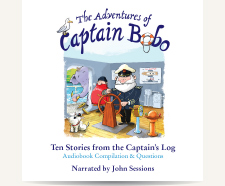 The Adventures of Captain Bobo: CD Audiobook Compilation